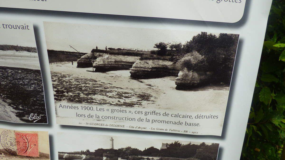 Le phare de Vallières à Saint-Georges-de-Didonne.