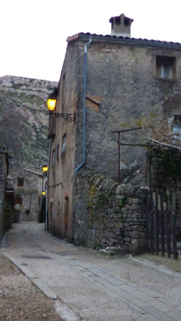 Le hameau de Navacelles.