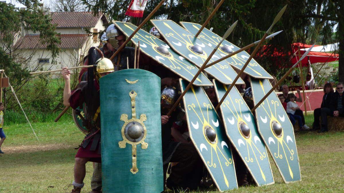 Découvertes de la vie d'un soldat romain.