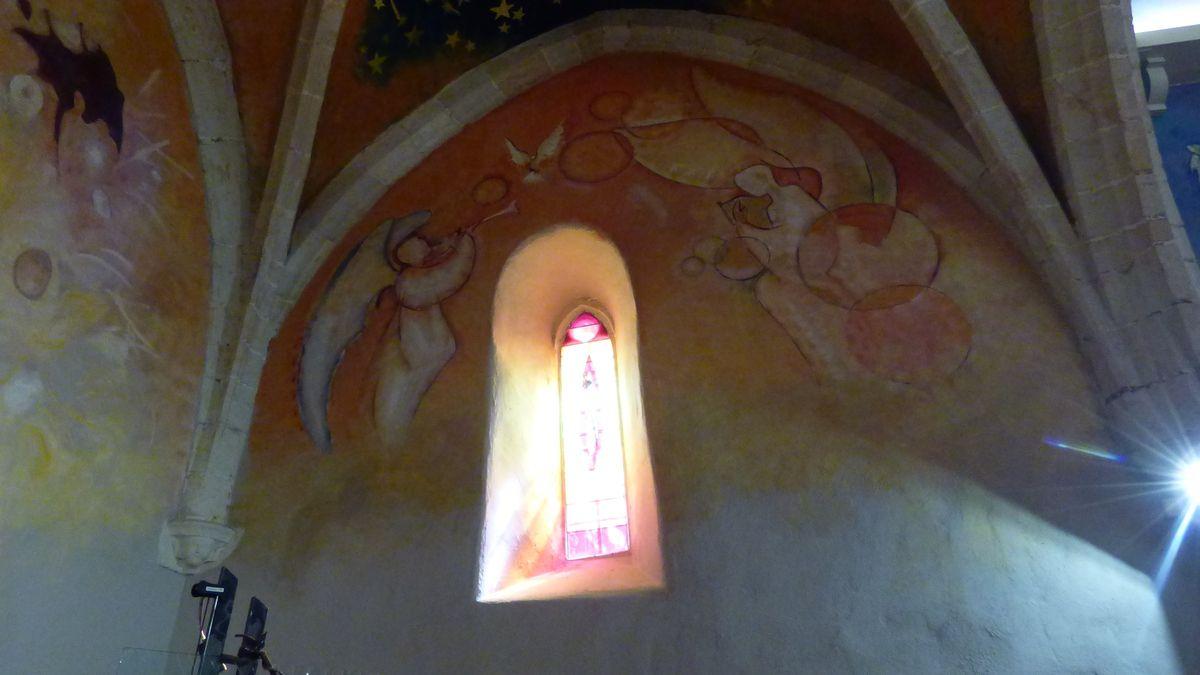Métamorphoses de l'Eglise du Carla dans le Tarn.