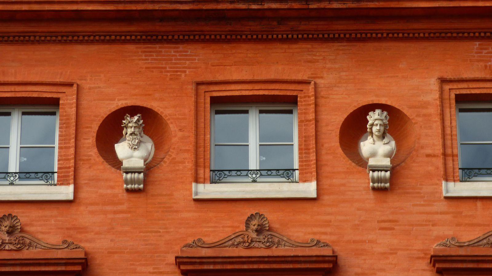 Les fontaines de Toulouse/ Haute-Garonne.