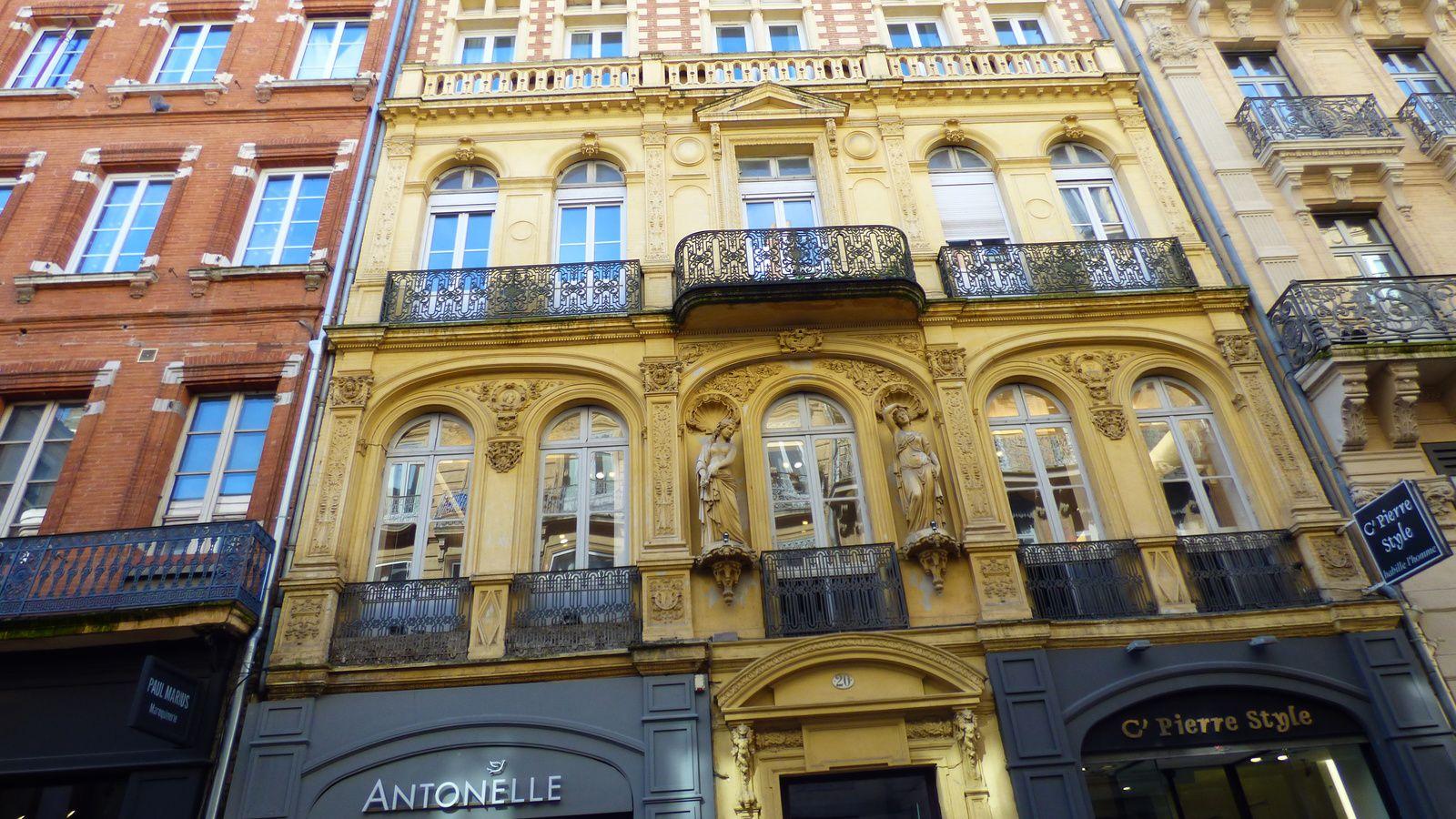 Une balade dans Toulouse avec de belles découvertes/ Haute-Garonne.