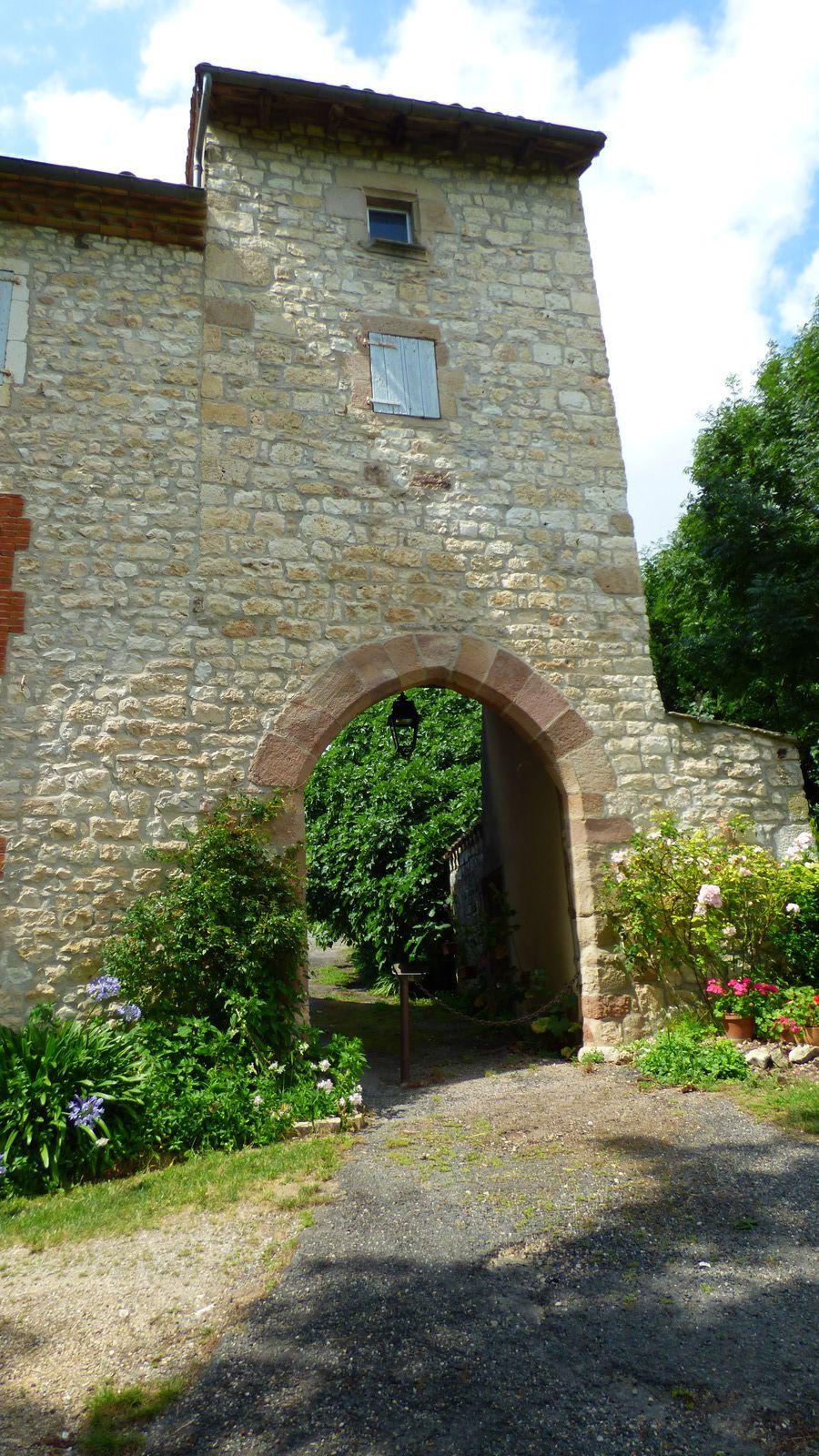 Itzac village du Tarn.