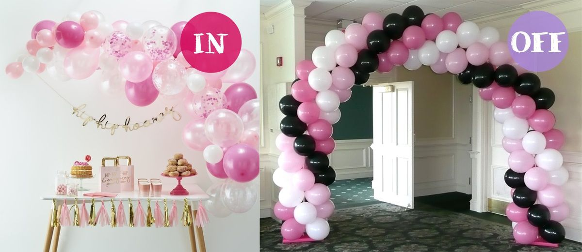 Arche de ballons in or off