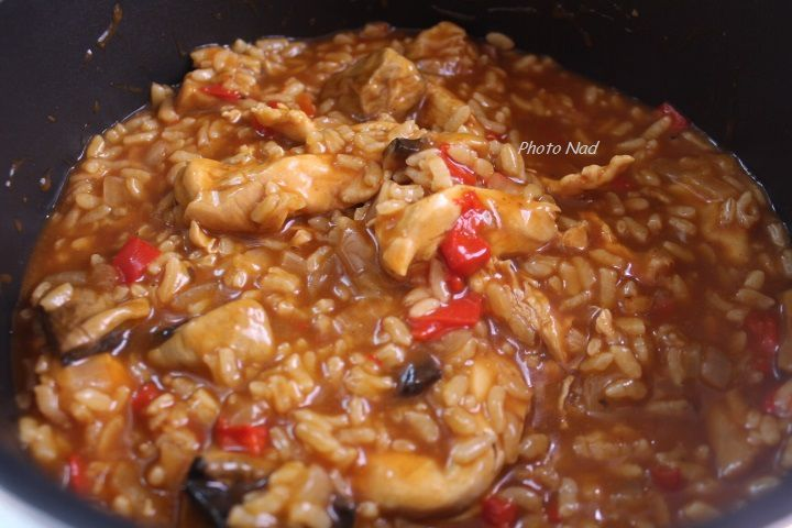 Risotto Poulet Poivron Cookeo Mamy Nadine Cuisine