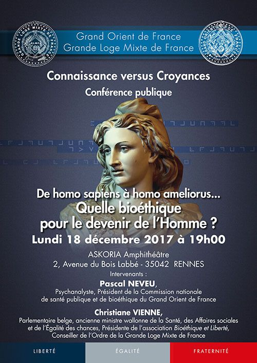 CONFERENCE GODF A BETHUNE ET A RENNES