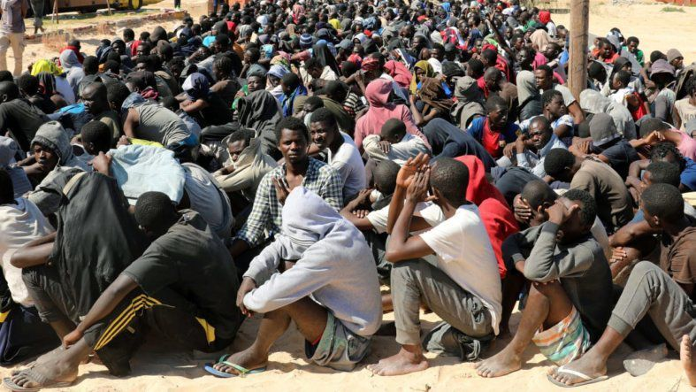 MIGRANTS AFRICAINS EN LIBYE