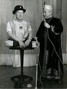 Pierre Dac et Françis Blanche