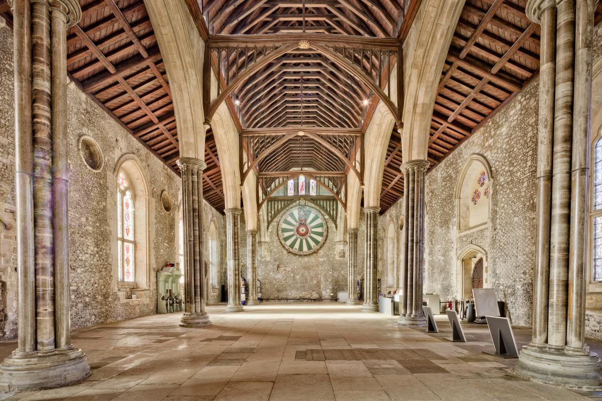 Great Hall Winchester England