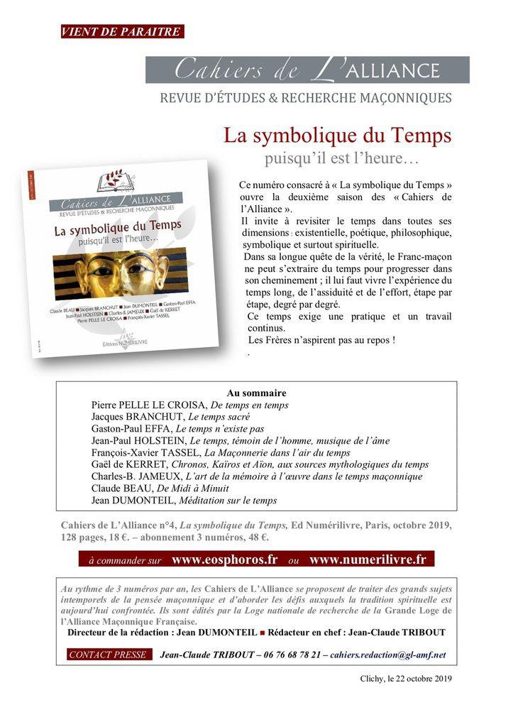 VERBALISER LE TEMPS LA SYMBOLIQUE DU TEMPS-PART II.