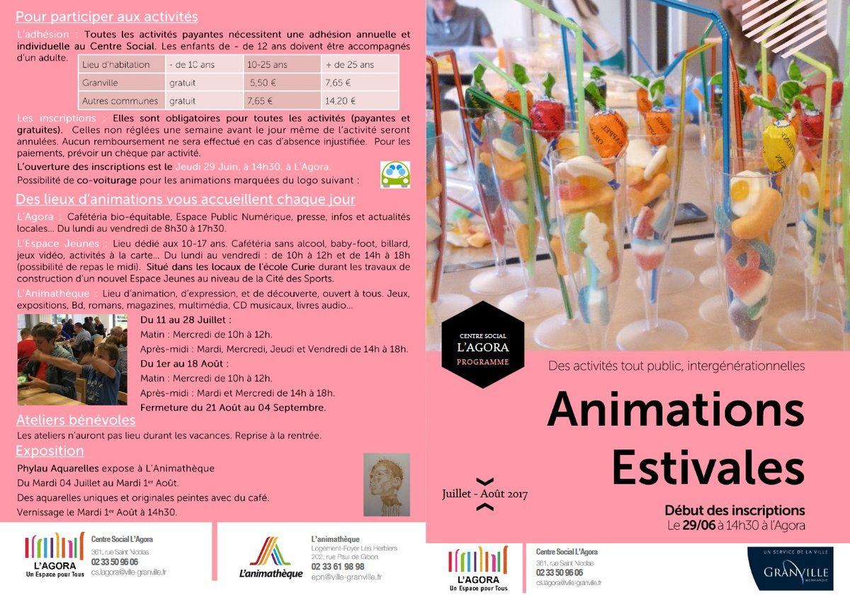 Exposition à l' Animathéque de Granville