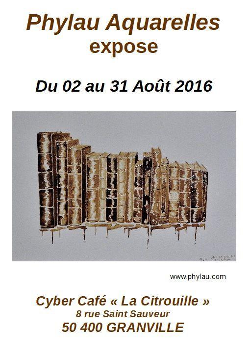 exposition                                             Cyber café La Citrouille