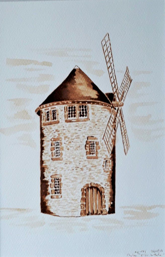 St Pair, le Moulin