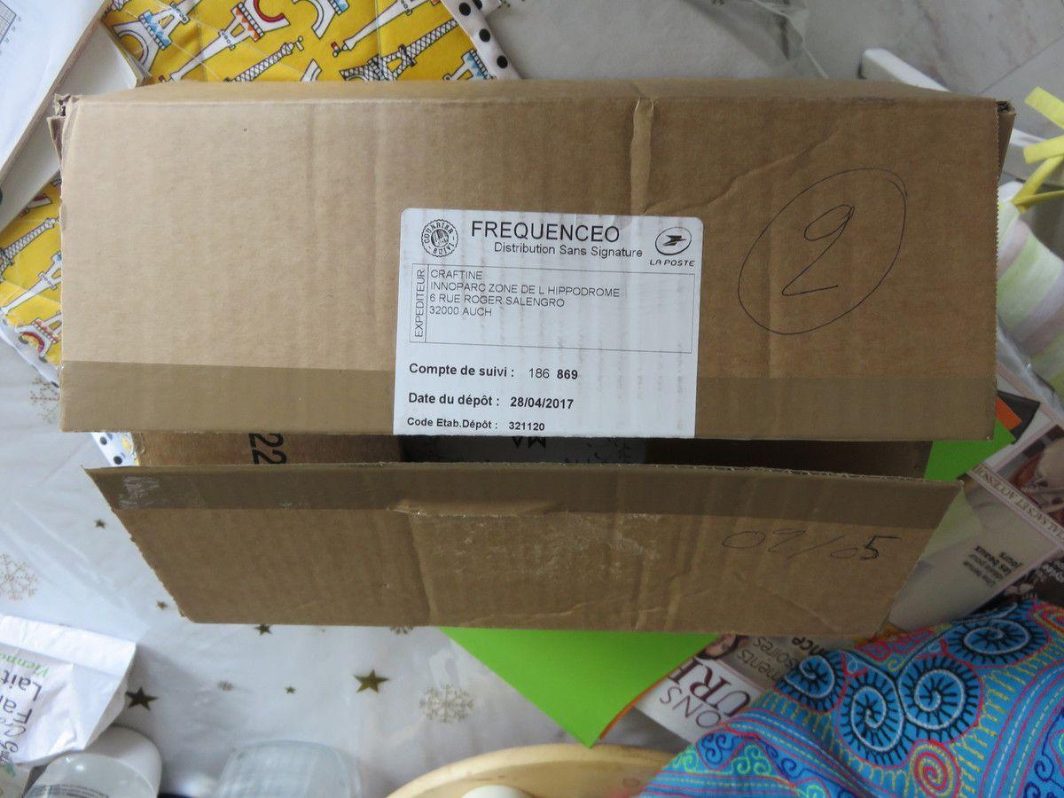 Que contient ce carton ?