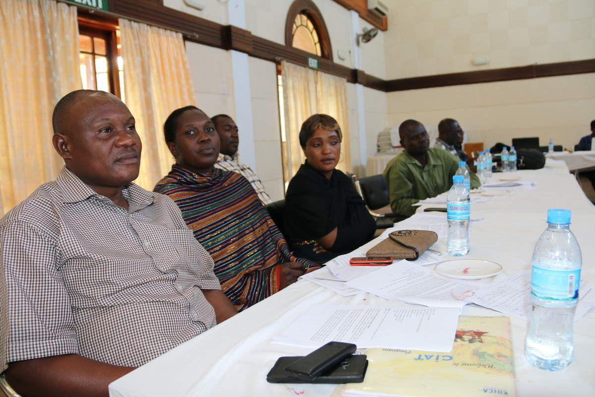 Wataalamu na wadau wa uvuvi_Mkonge Hotel, Tanga