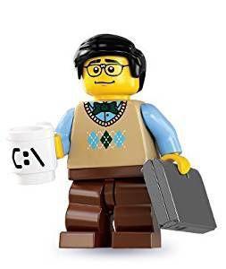 (FUN informatique) Figurines LEGO Programmeur Informatique