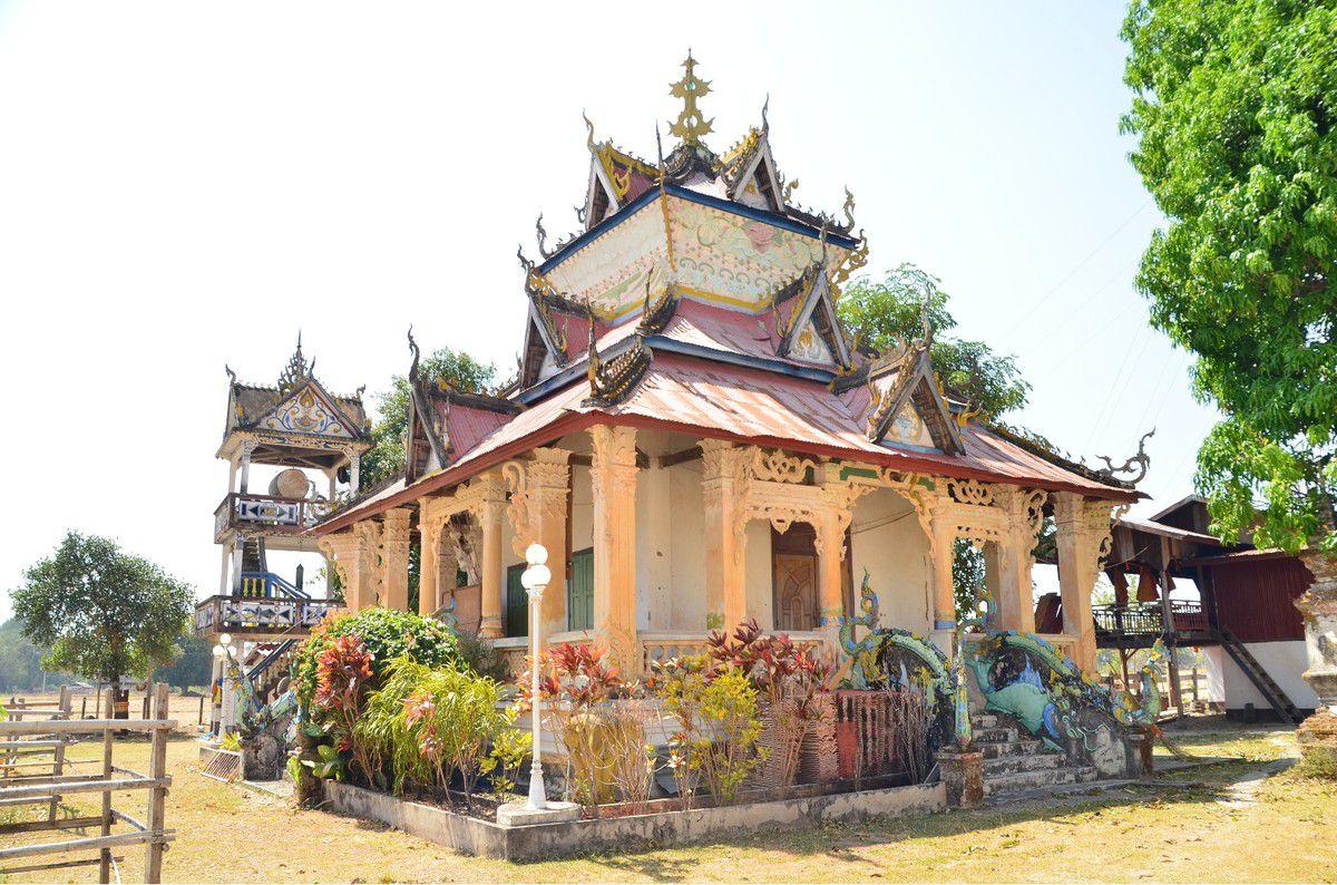 Au sud du Laos, Pakse et ses nombreux temples