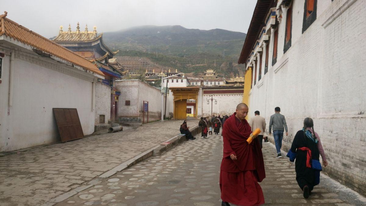 La région du Qinghai est très intéressante mais la maladie et la neige (en septembre) nous ont fait abréger cette visite pour redescendre vers le sud.