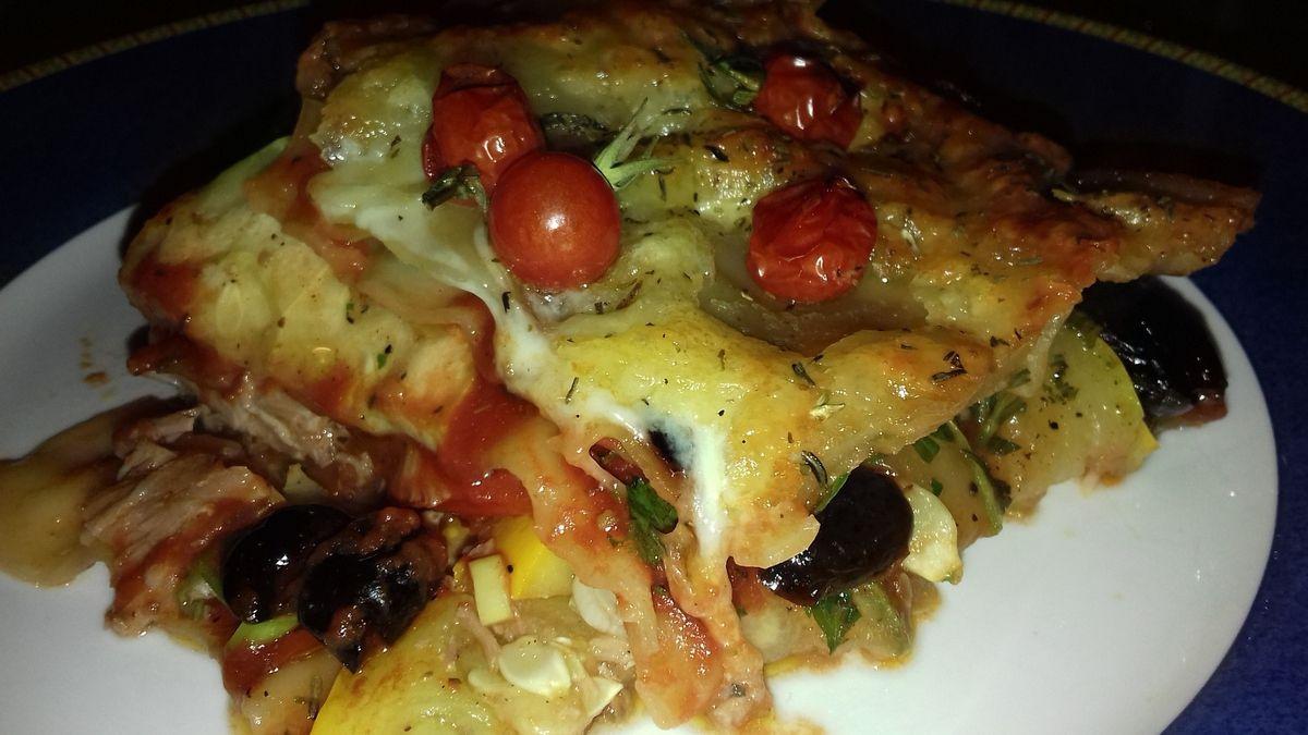 Lasagnes express de thon à la méditérranéenne