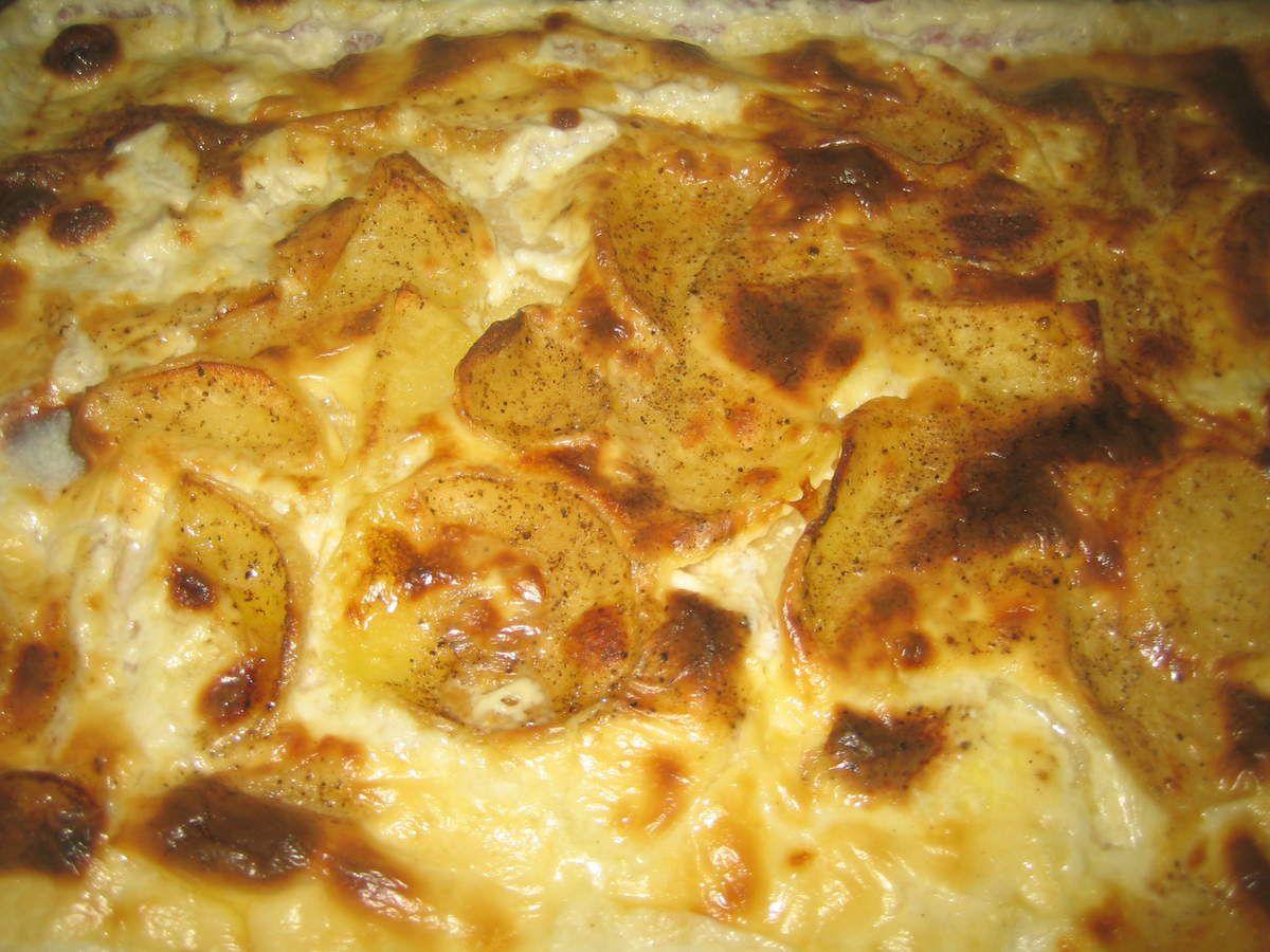 Le patia auvergnat (on dit aussi la patia) est une spécialité typique d'Auvergne que l'on retrouve également dans le Forez (Loire, 42).  C'est par définition, des pommes de terre noyées dans de la crème fraîche qui vont mijoter pendant de longues heures, à feu doux, dans une marmite en fonte. Auparavant, les cuisinières les mettaient à cuire dans la cheminée. Ce gratin se préparait autrefois dans les jasseries, c'est-à-dire des fermes-auberges des monts du Livradois-Forez.  Le-la patia se déguste avec une salade verte, de la charcuterie de pays.  En Auvergne, on rajoute parfois de la fourme d'Ambert dans la préparation.  Ce plat typique, certes copieux et calorique, se déguste en hiver.