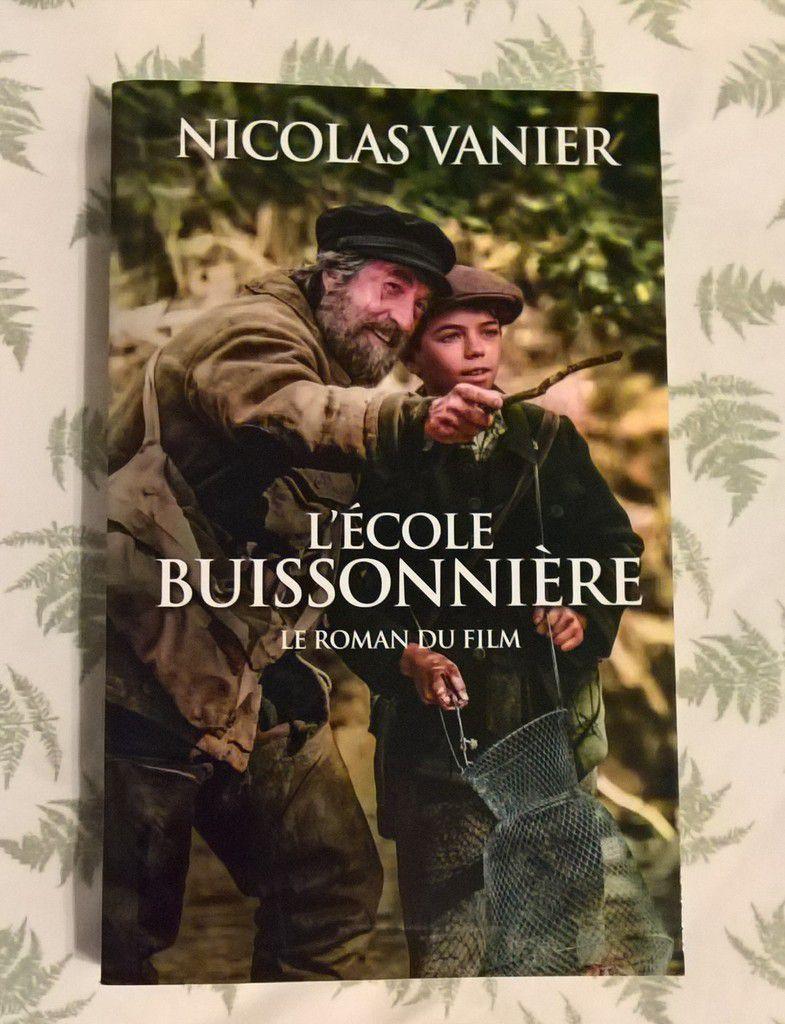 Ecole buissonnière Nicolas Vanier livre film