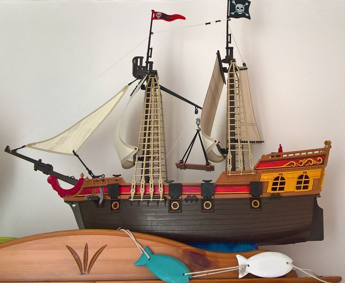 playmobil bateau pirate 5135