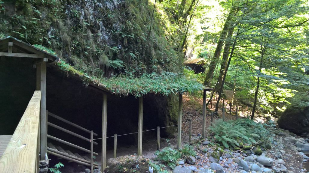 Les gorges de la Jordanne (Cantal)