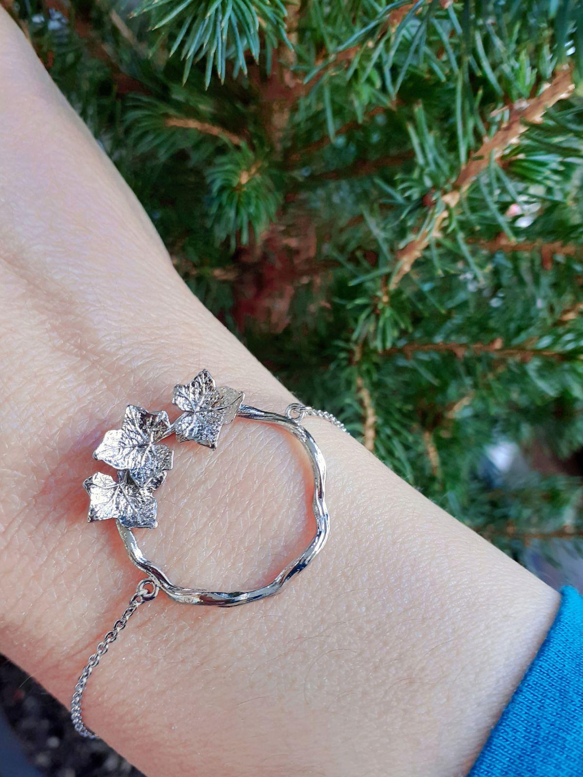 bracelet feuillages Emma & Chloé
