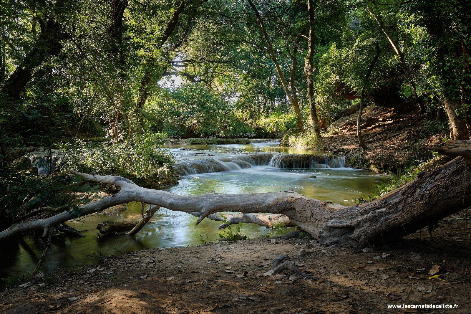 rivière Sillans Var