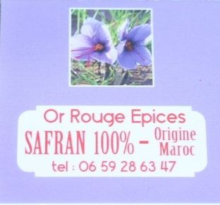 OR ROUGE Epices