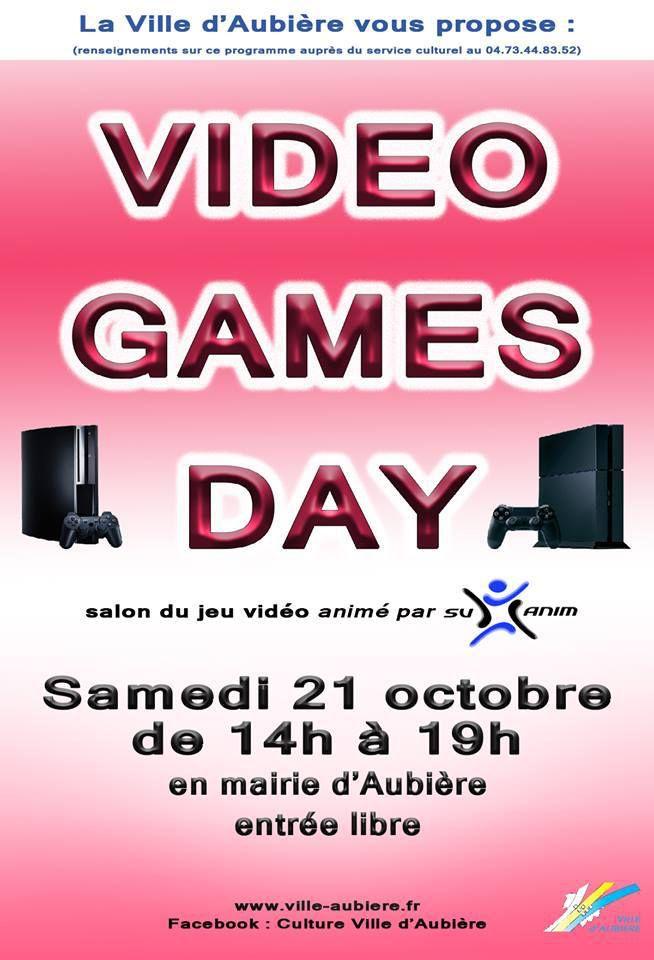 Salon du jeu vidéo à Aubière samedi 21 octobre