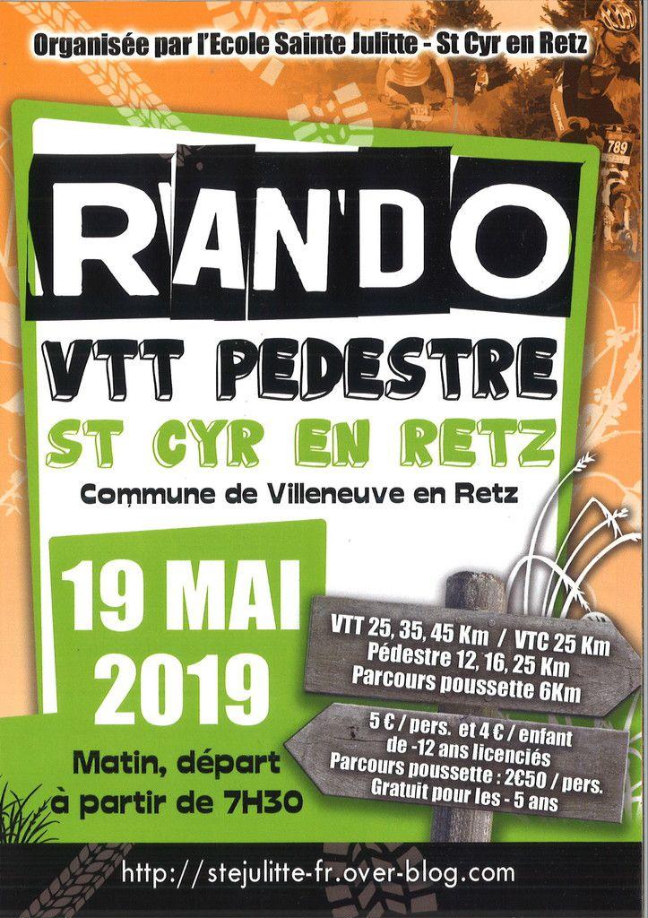 Rallye Vélo 2019