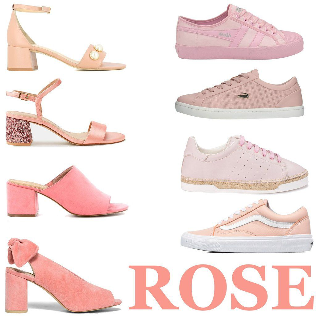 Chaussures roses-Pink shoes