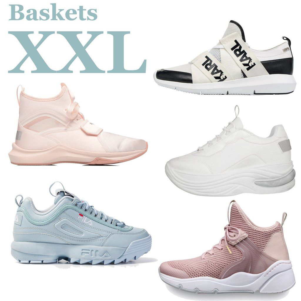 Les Baskets XXL-The XXL Sneakers