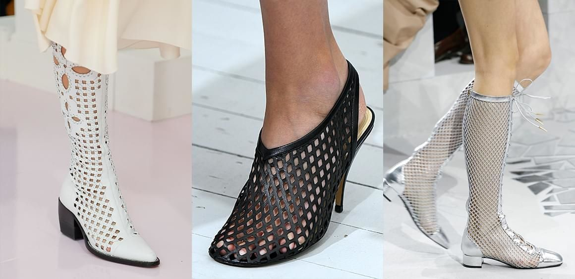 La tendance résille-The fishnet trend