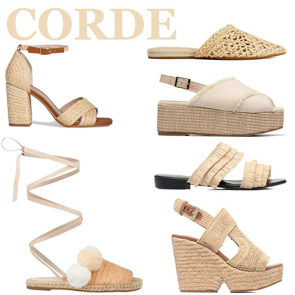 Chaussures cordes-Rope shoes