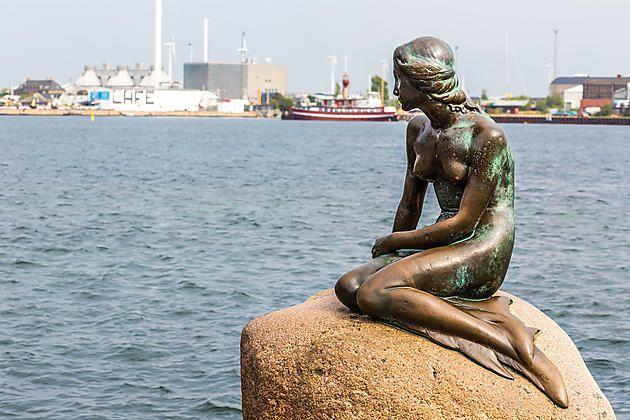 Danemark ,Copenhague et sa petite sirène-Denmark ,Copenhagen and her little mermaid