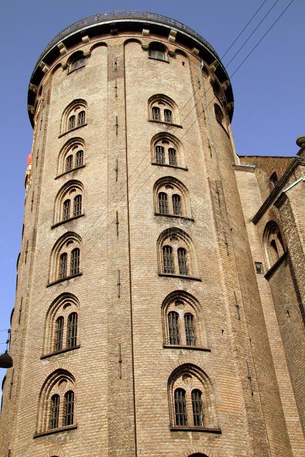 La Tour Ronde. Copenhague-The Round Tower. Copenhagen