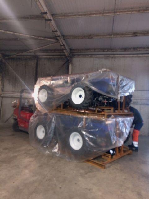Arrivée des tracteurs Lovol 25cv chez Eurotek