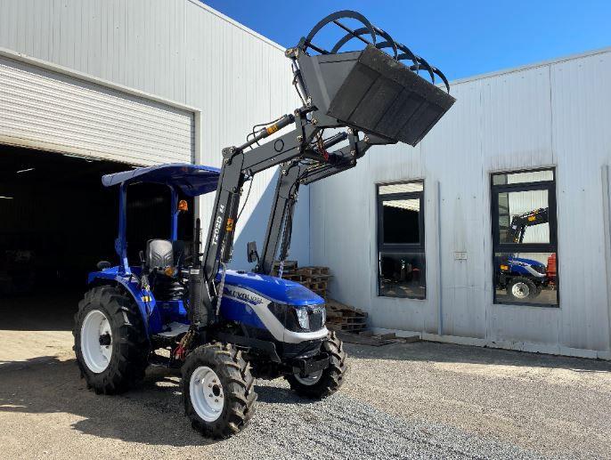 tracteur lovol livré dans un centre équestre - eurotek