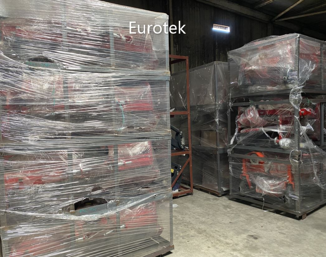 Arrivage tondeuse, broyeur, taille-haie, fraise rotative, herse rotative - Eurotek