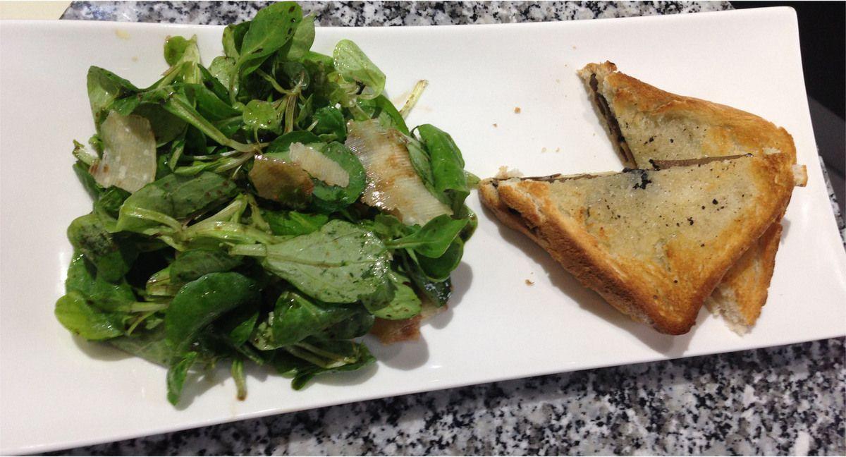Sandwichs à la truffe