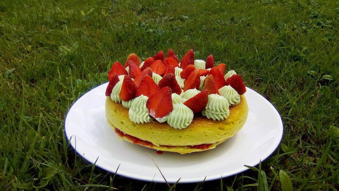 La tarte aux fraises à ma façon