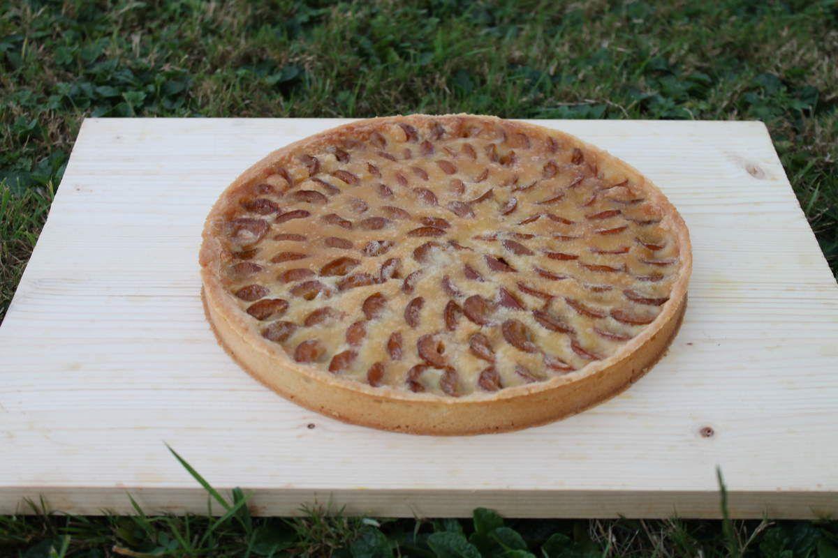 La tarte aux mirabelles d'Eric Kayser #mirabelle #tarteauxmirabelles