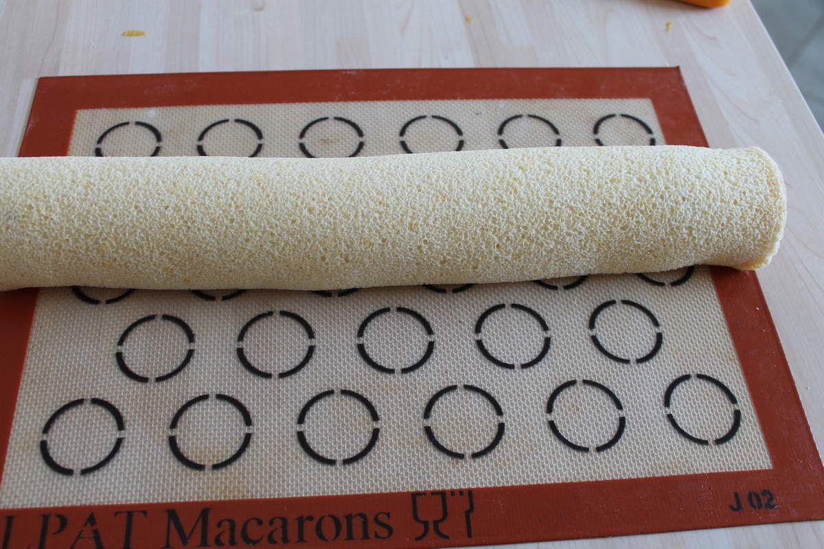 Mon Roulé Mangue Groseille La Patisserie de Romain Blog dédié à tous le gourmands