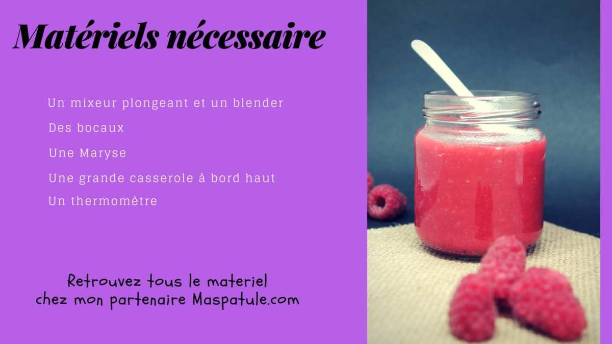 La Pâte caramel aux framboises La Patisserie de Romain blog dedié à tous les gourmands