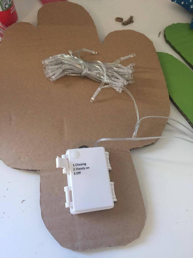 Challenge Makers Sud - Mon applique décorative et lumineuse CACTUS