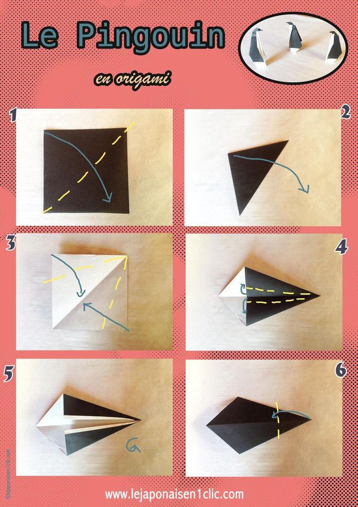 #pingouin #origami #DIY #blogdeippikicat
