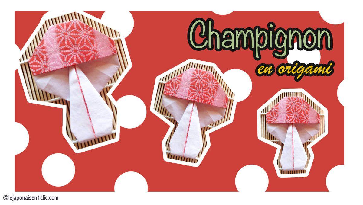#champignon #origami #leblogdeippikicat #take