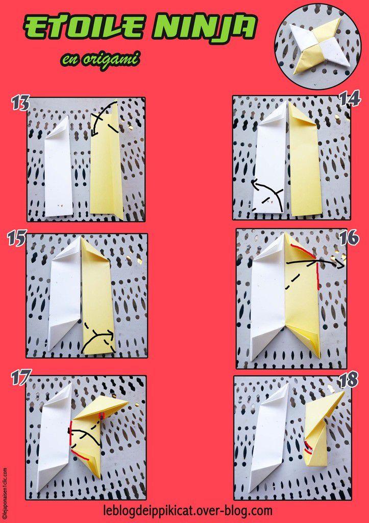 #origami #ninja #etoileninja #DIY #blogdeippikicat